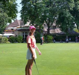 Mylène BARBET – Golf